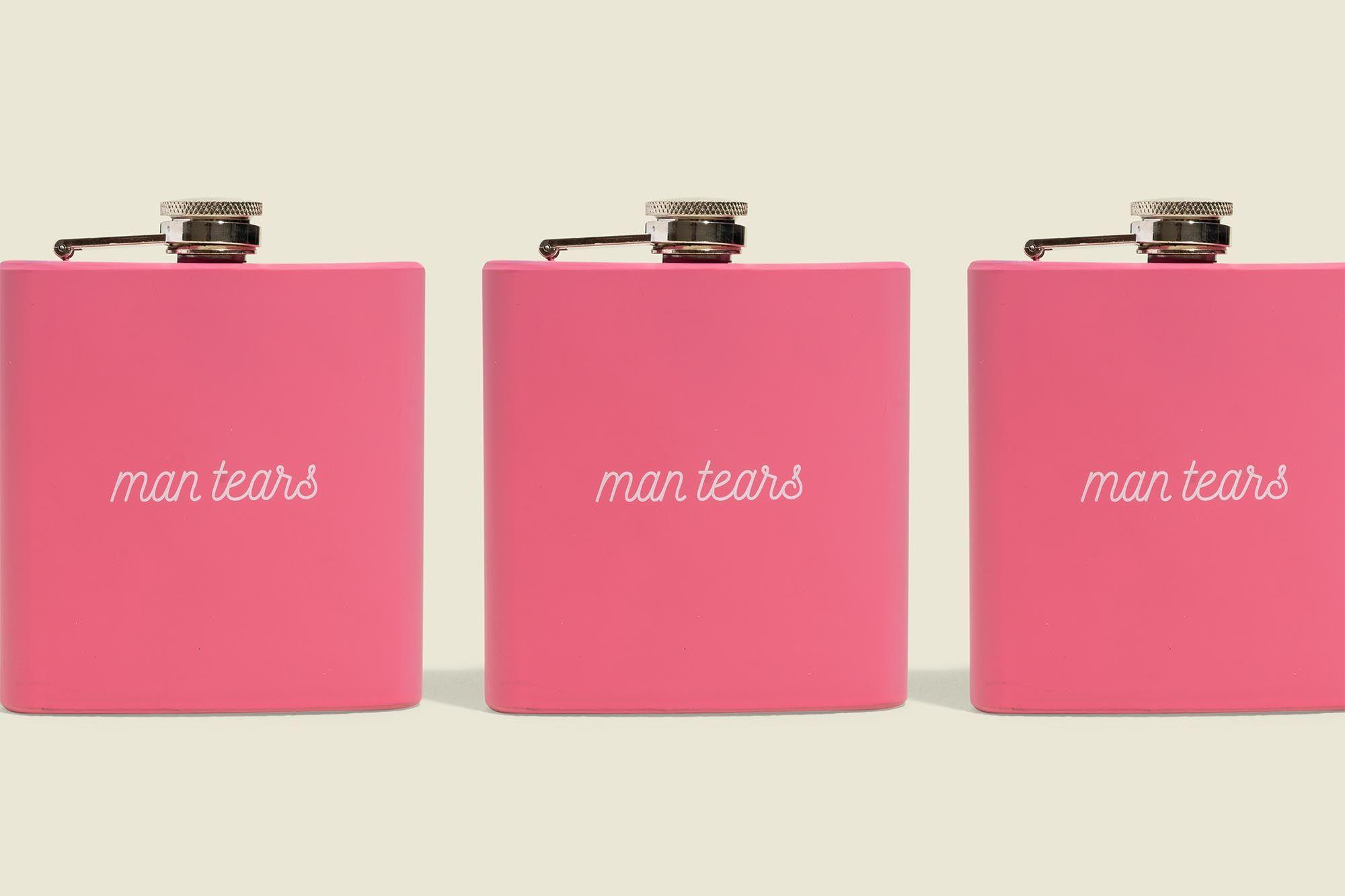 Pink flasks