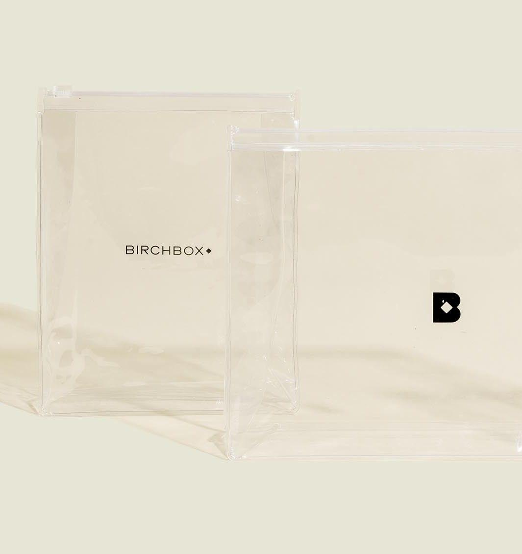 Clear ziplock bags