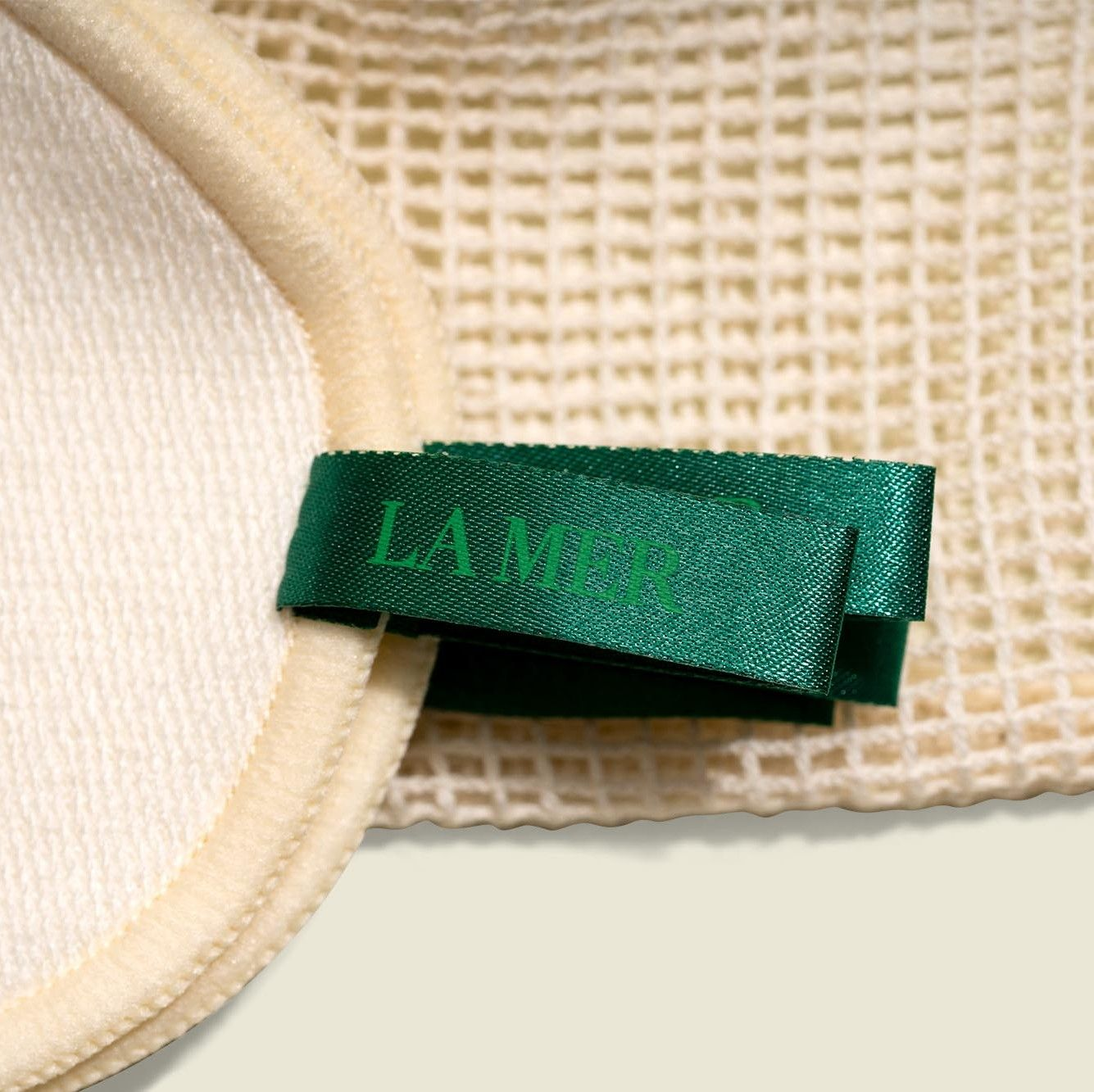 Drawstring pouch with makeup pads