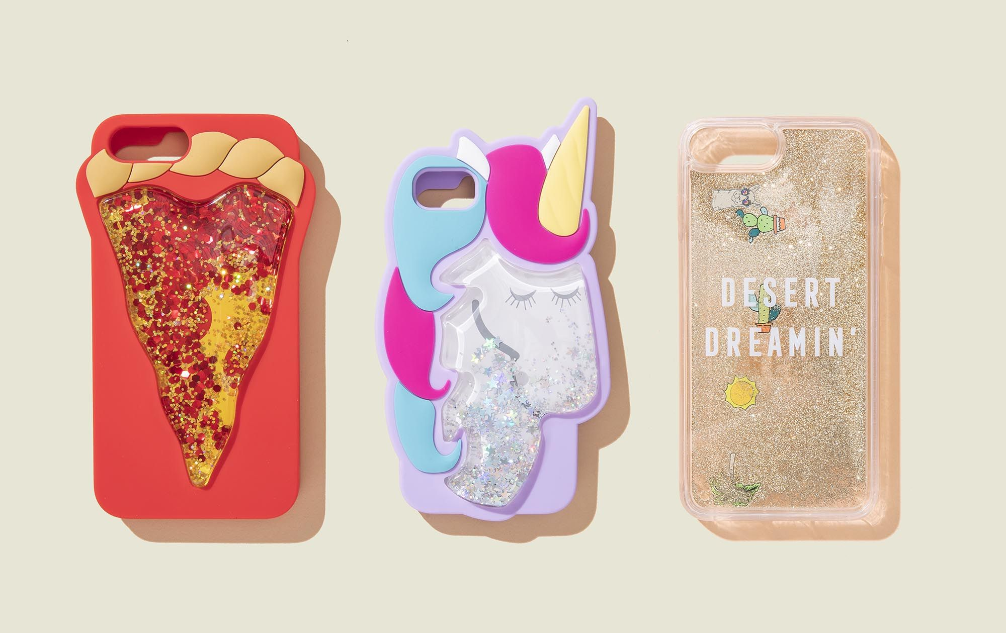 Set of phone cases