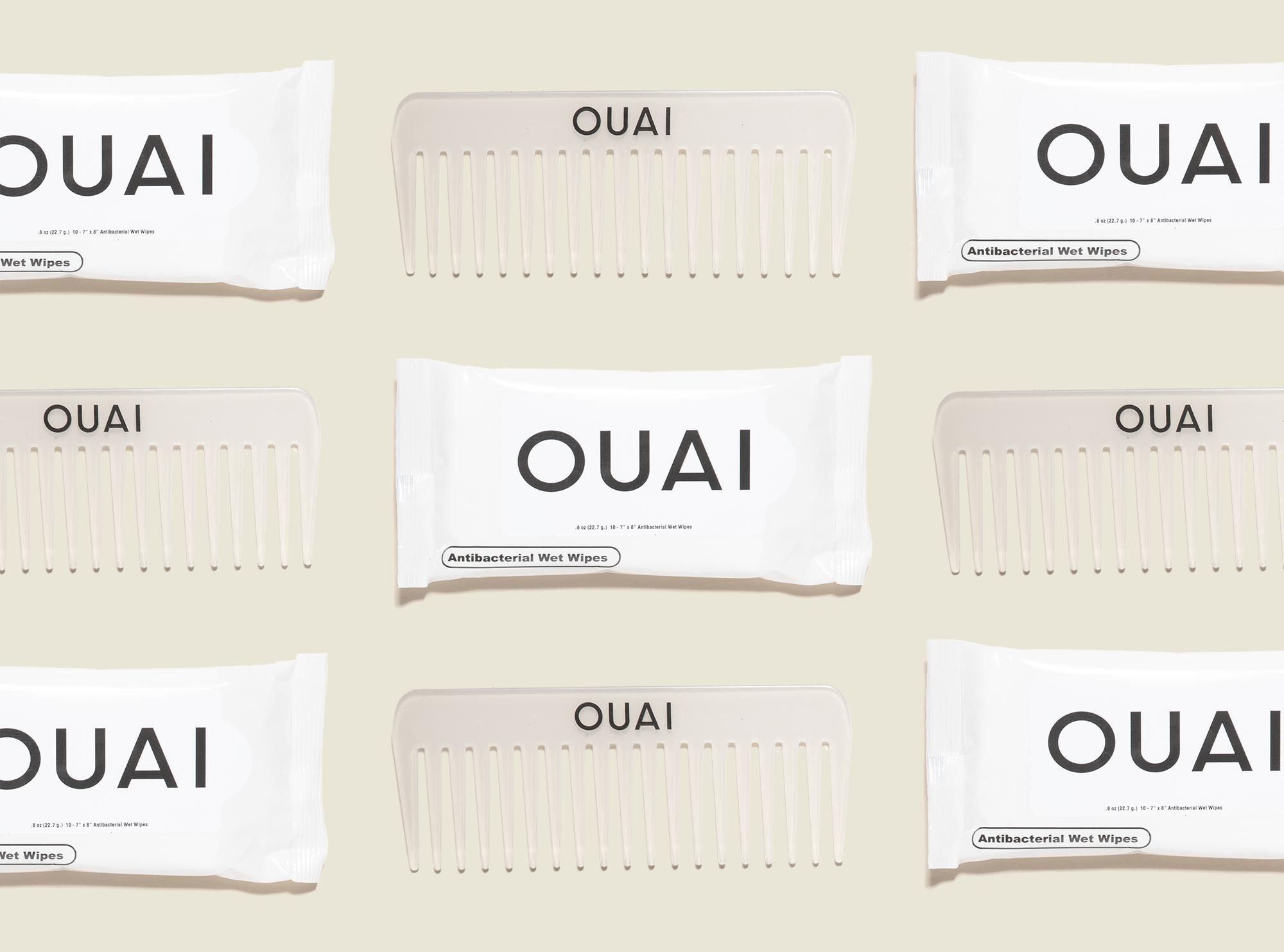 Custom packaging with hair comb