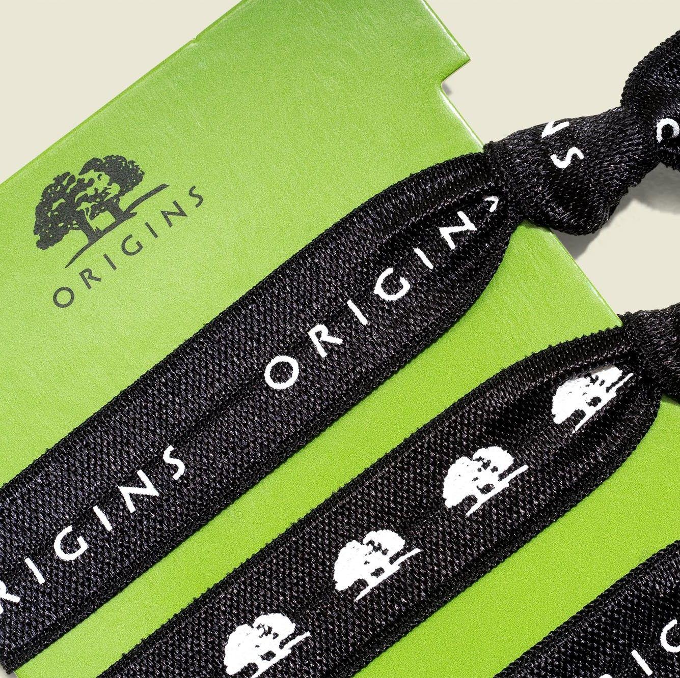 Custom packaging with hair ties