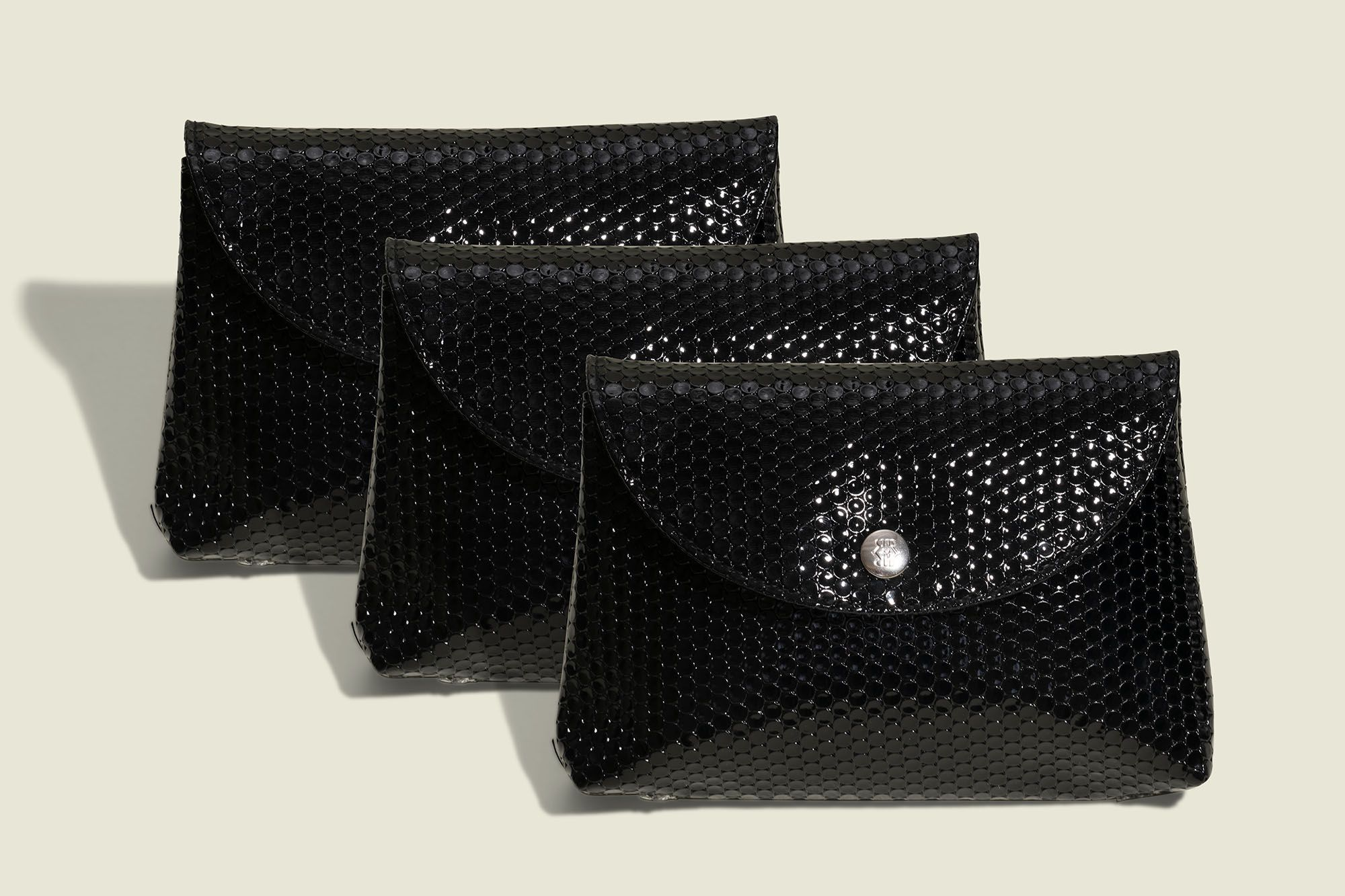 Standing black pouches