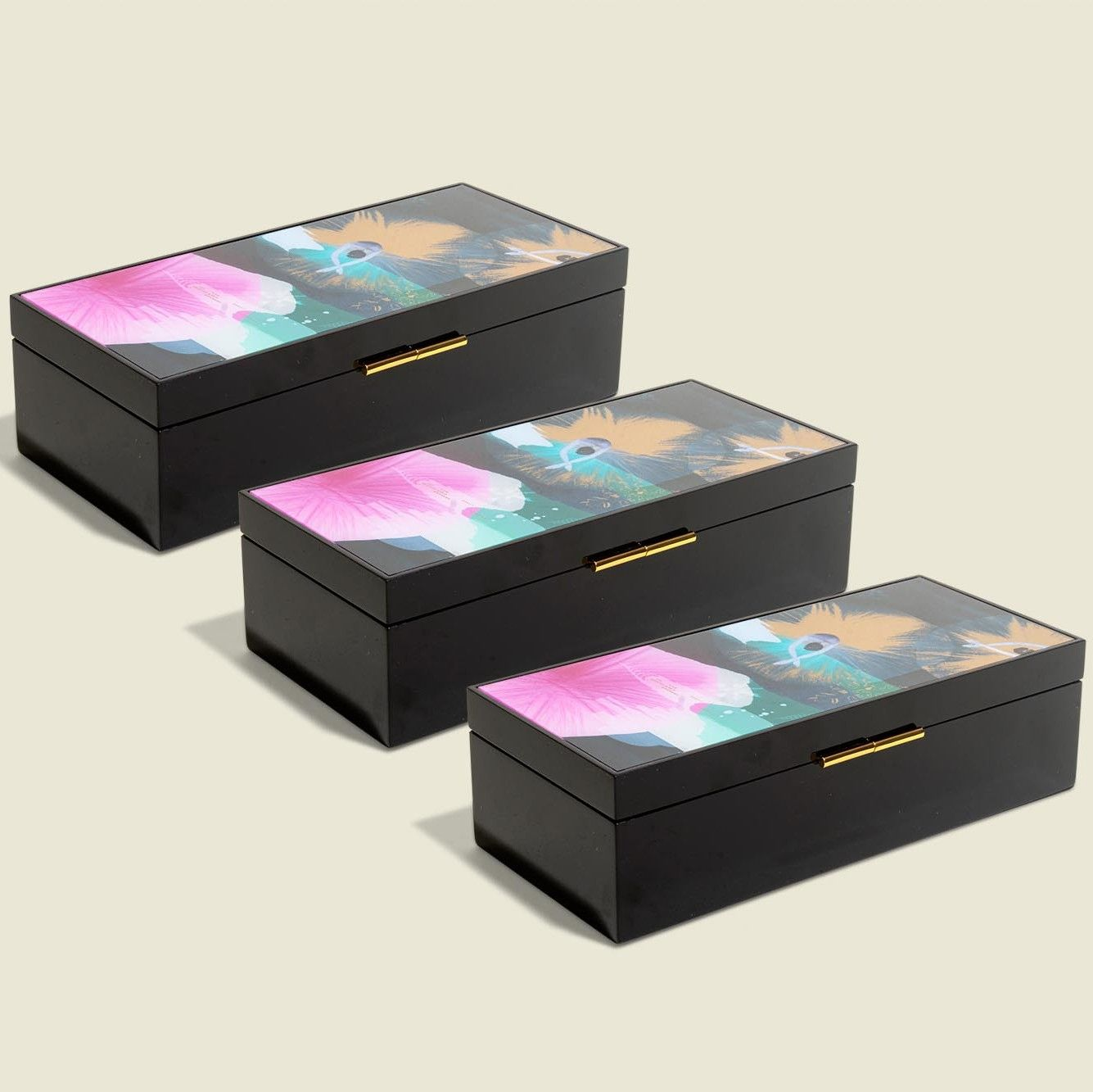 Custom hinged box