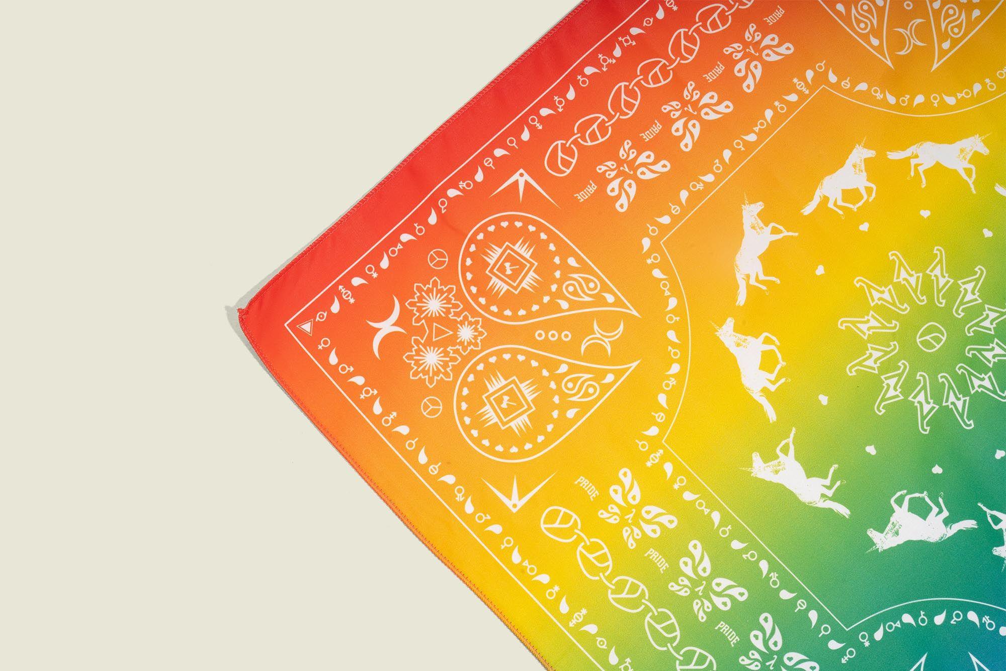Colorful handkerchief