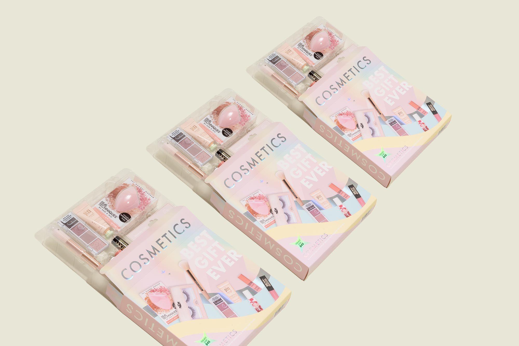 Custom packaged cosmetic kit