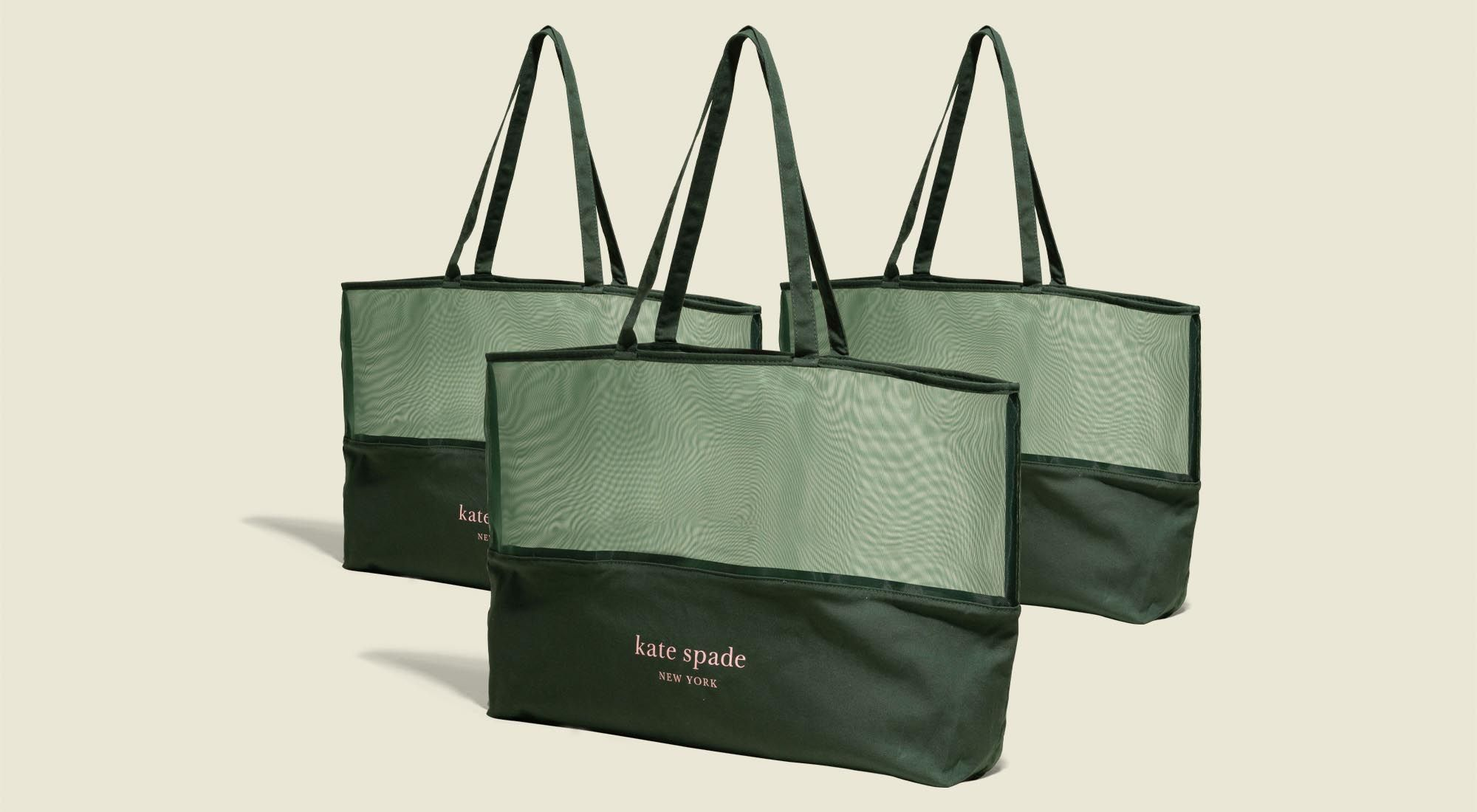 Three tote bags