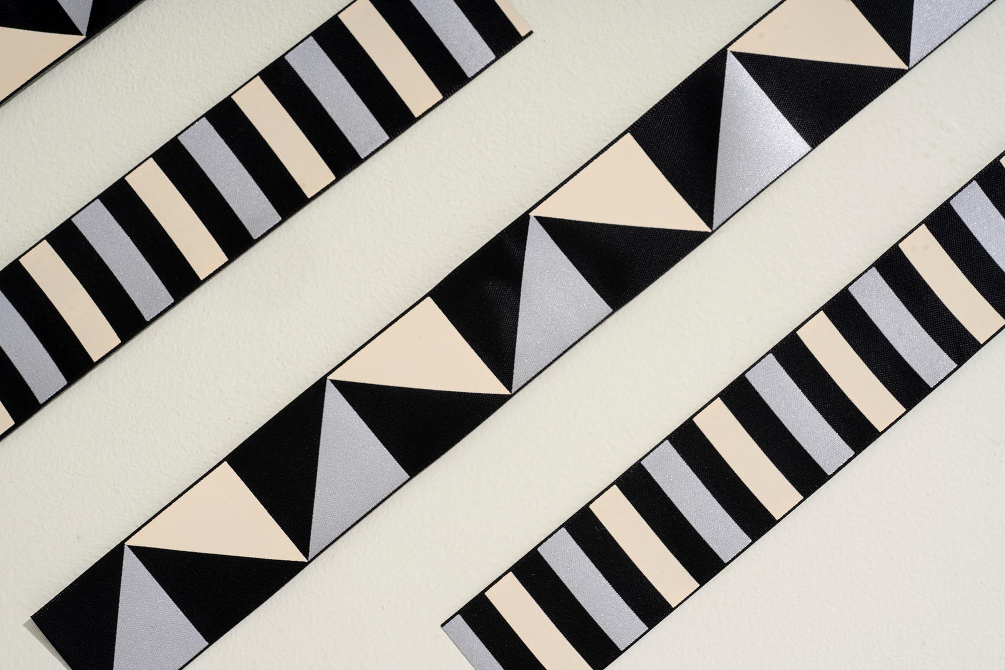 Close up of printed ribbon