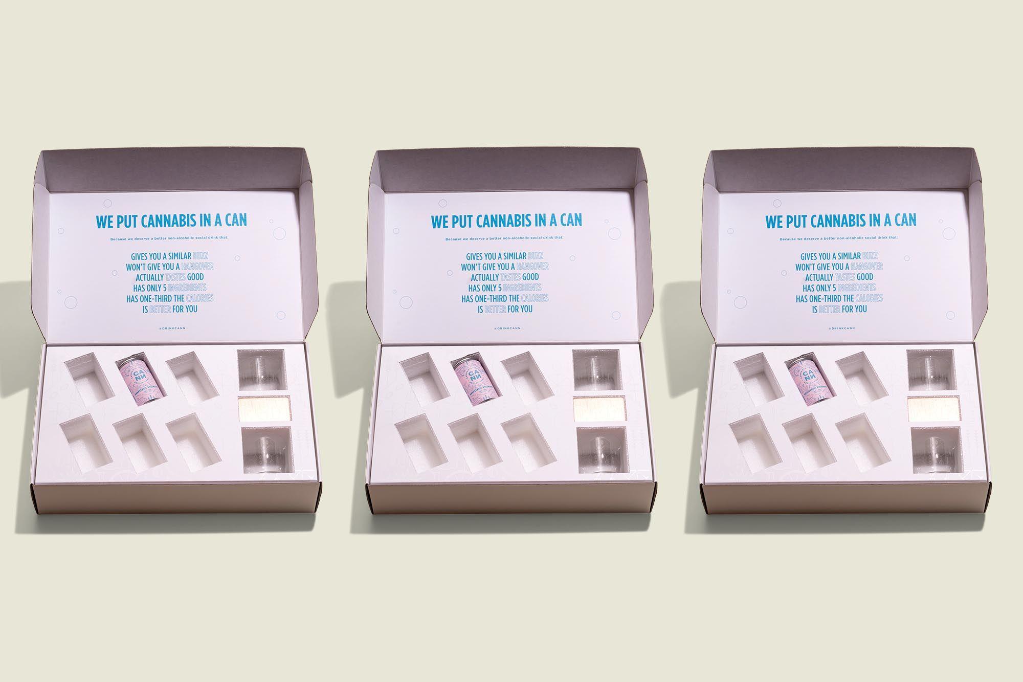 Custom printed hinge box