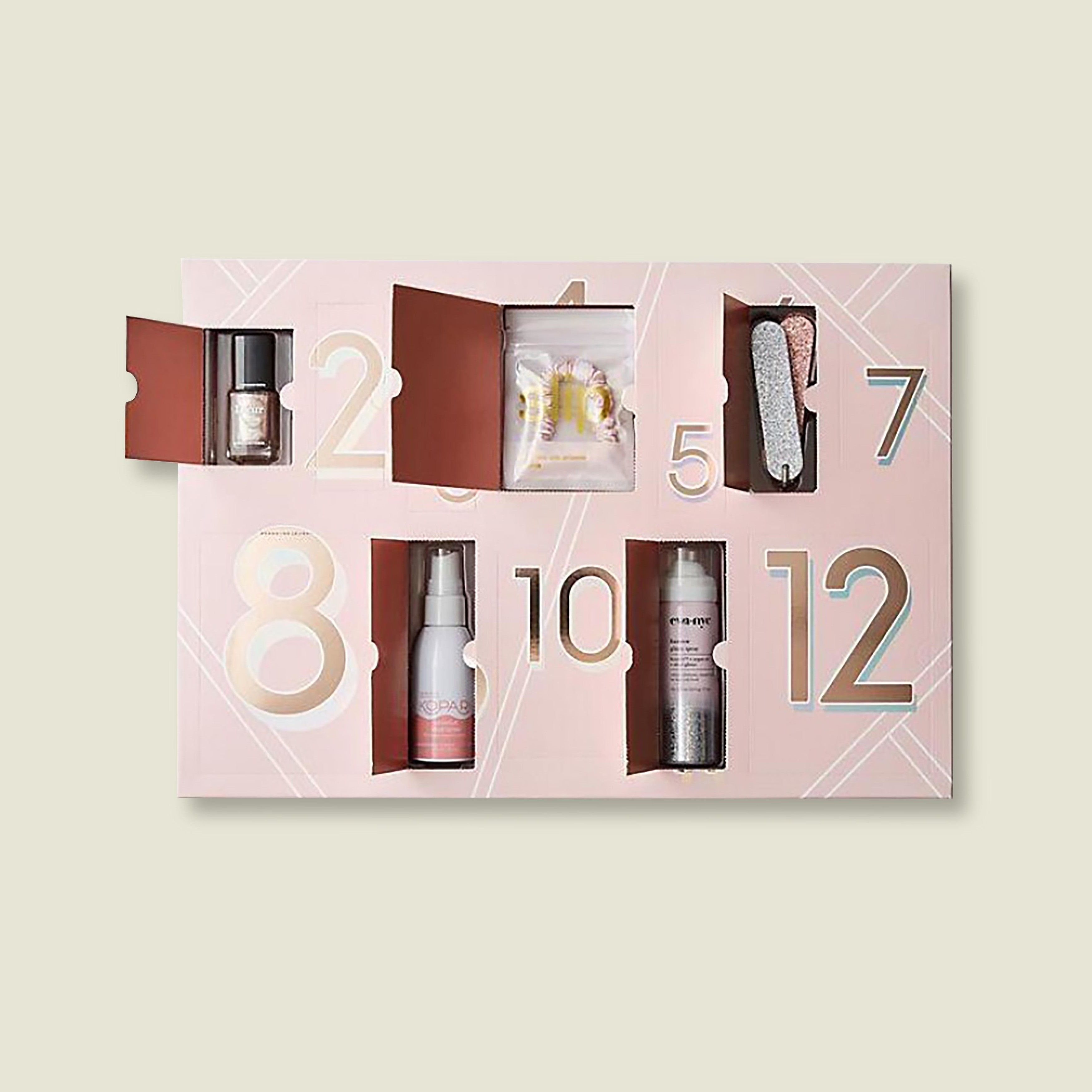 Custom packaging with beauty products and tools