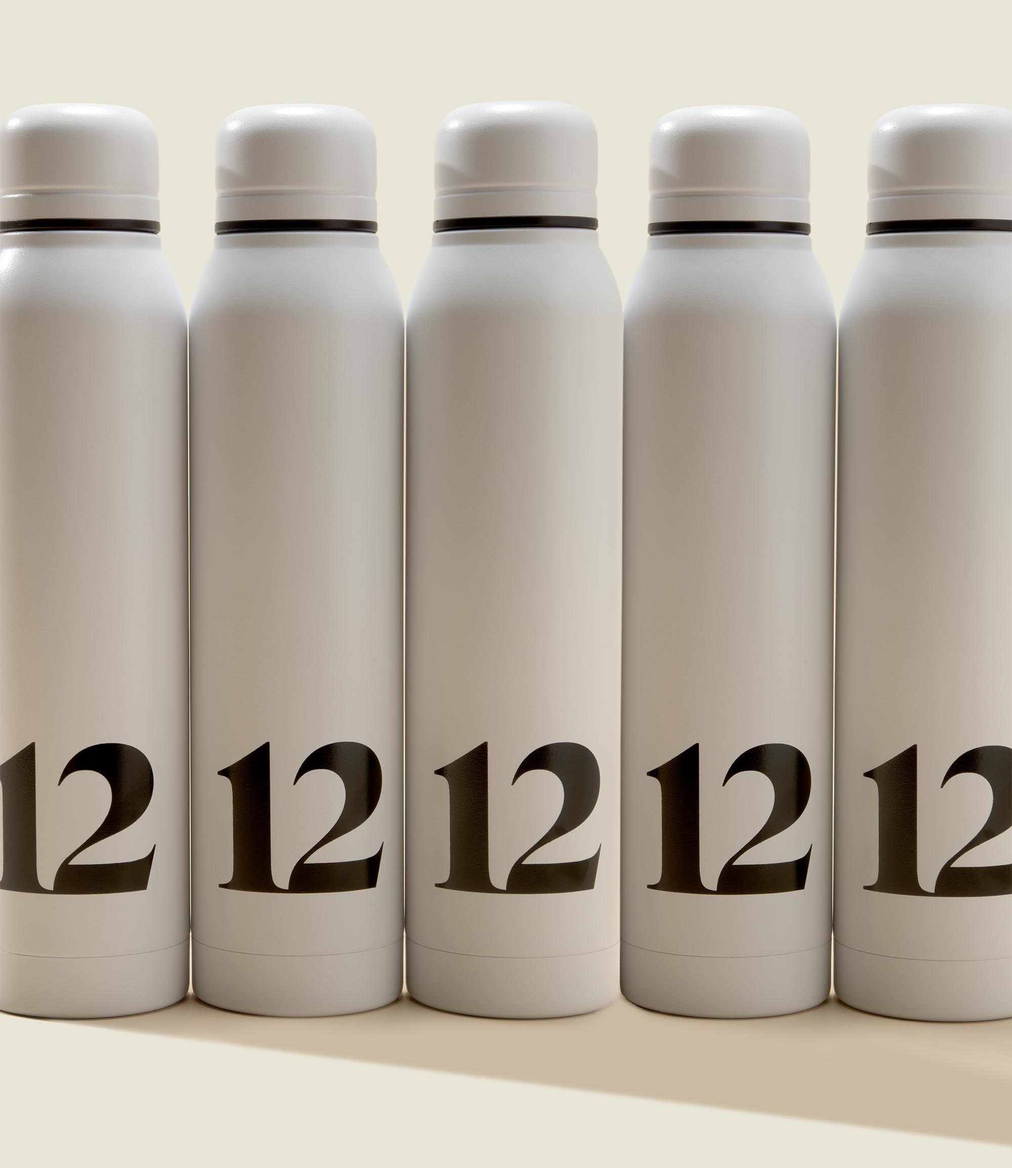 Set of water bottles