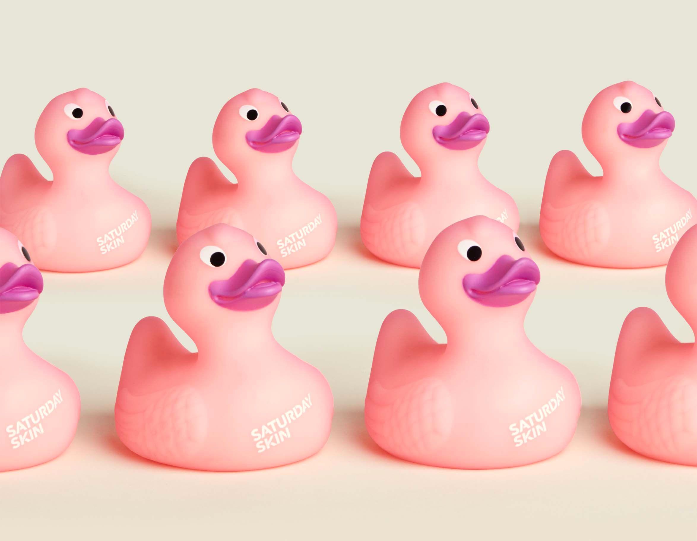 Set of rubber ducks