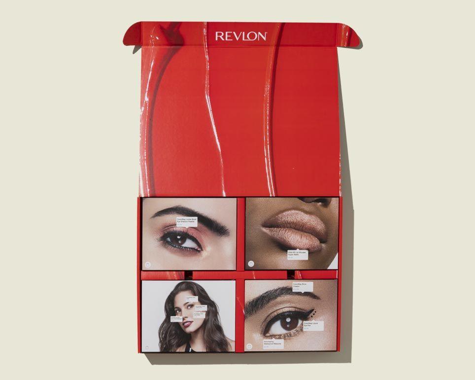 Custom print packaging with makeup kits