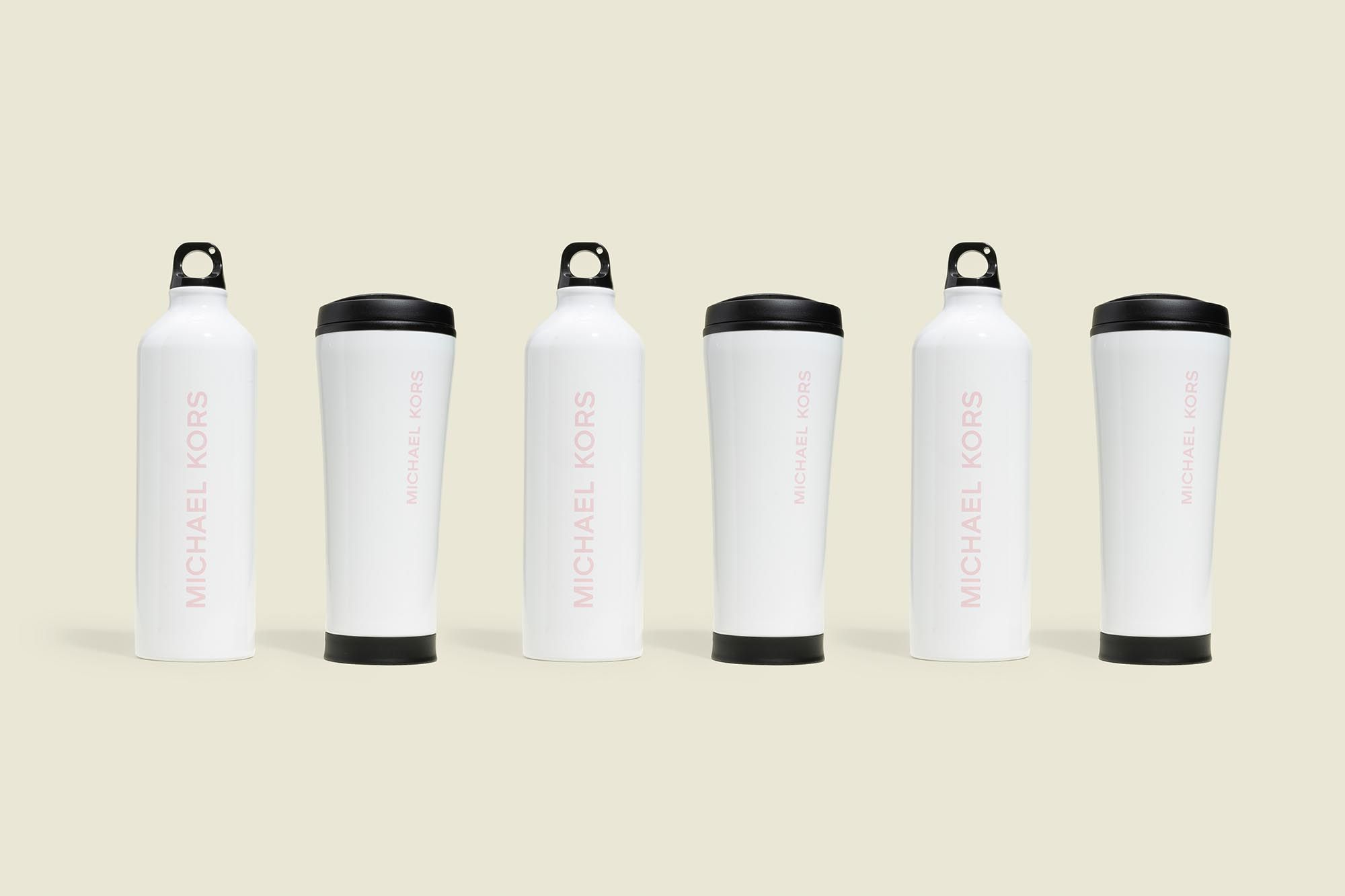 Water bottle with tumbler