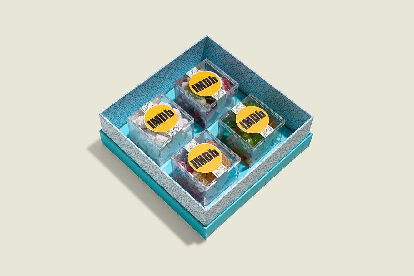 Custom packaging with gummies