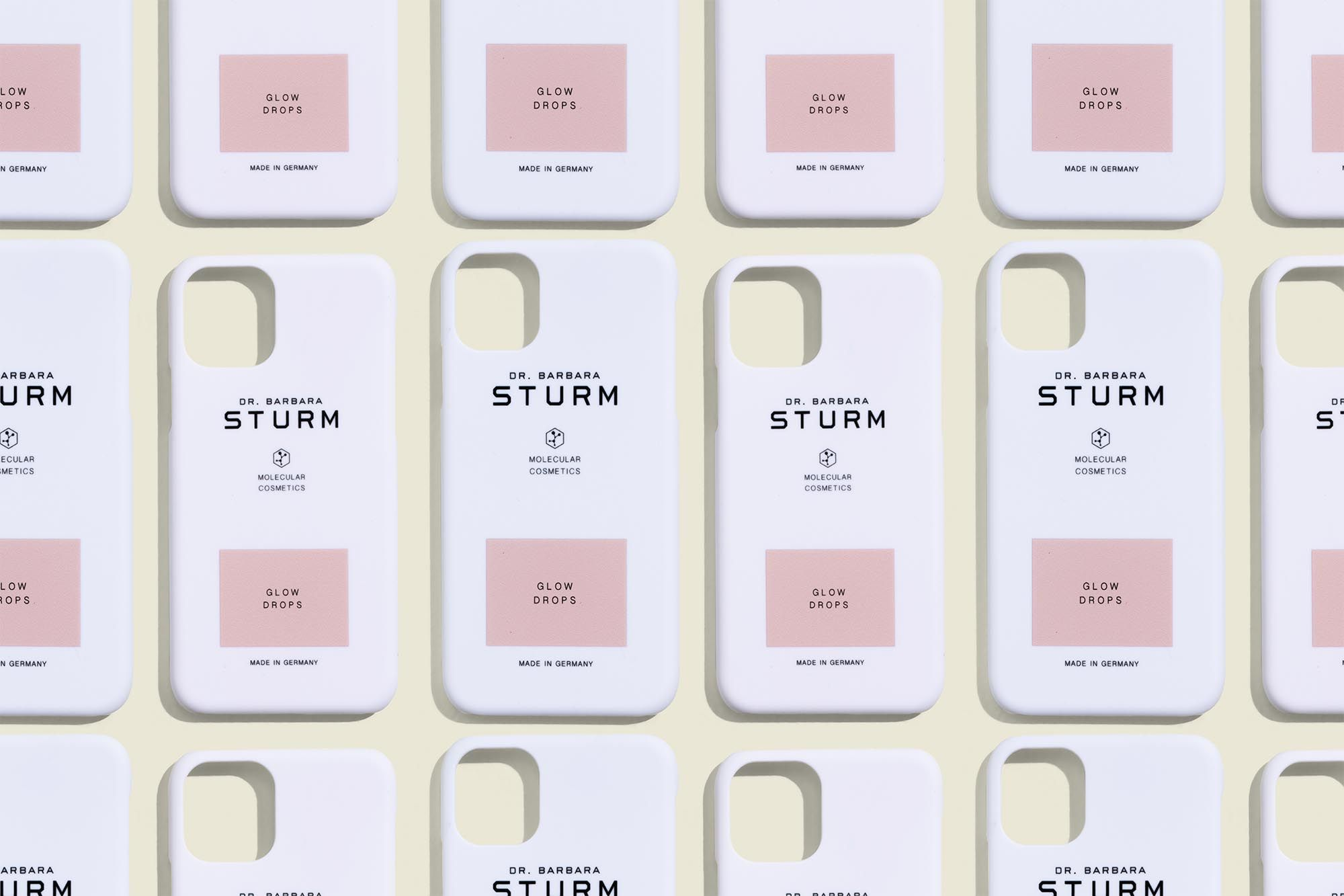 White Sturm iPhone cases