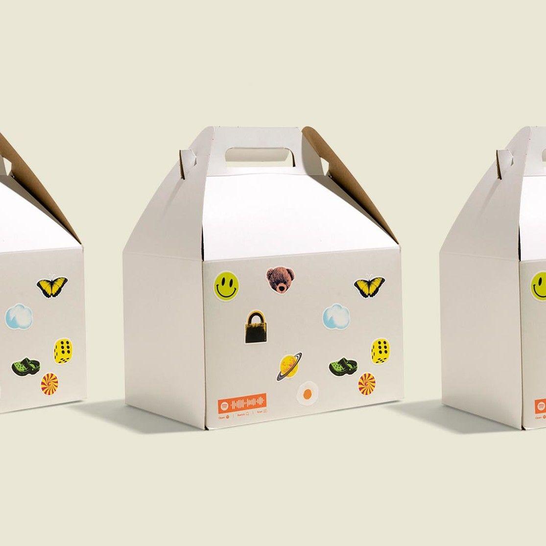 Custom packaged box