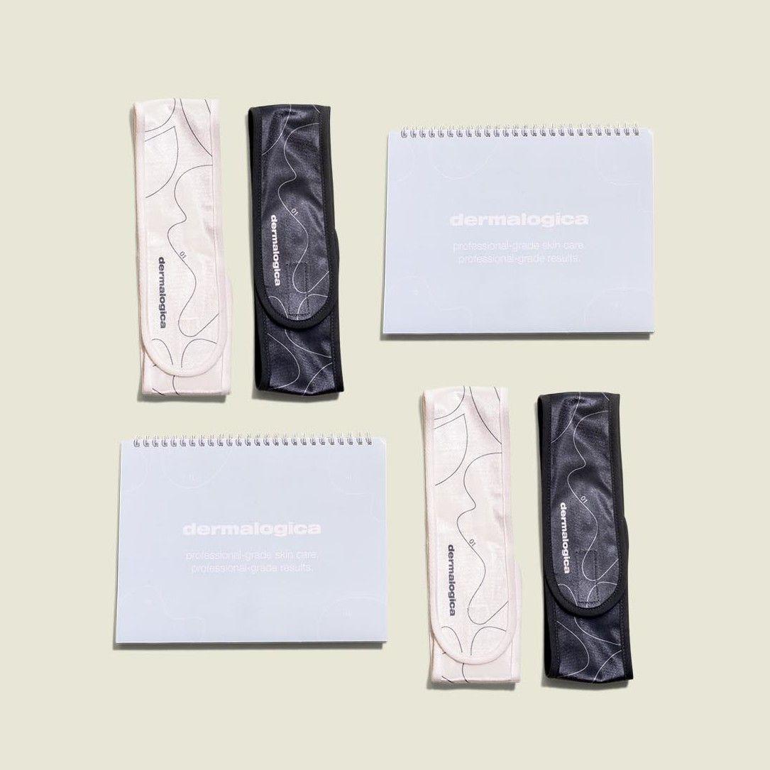 Terrycloth headbands with journals