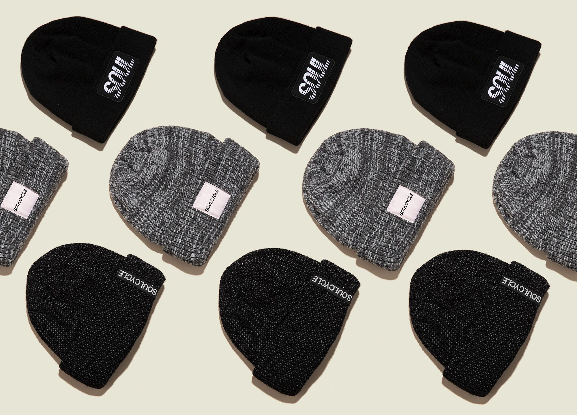 Collection of beanies