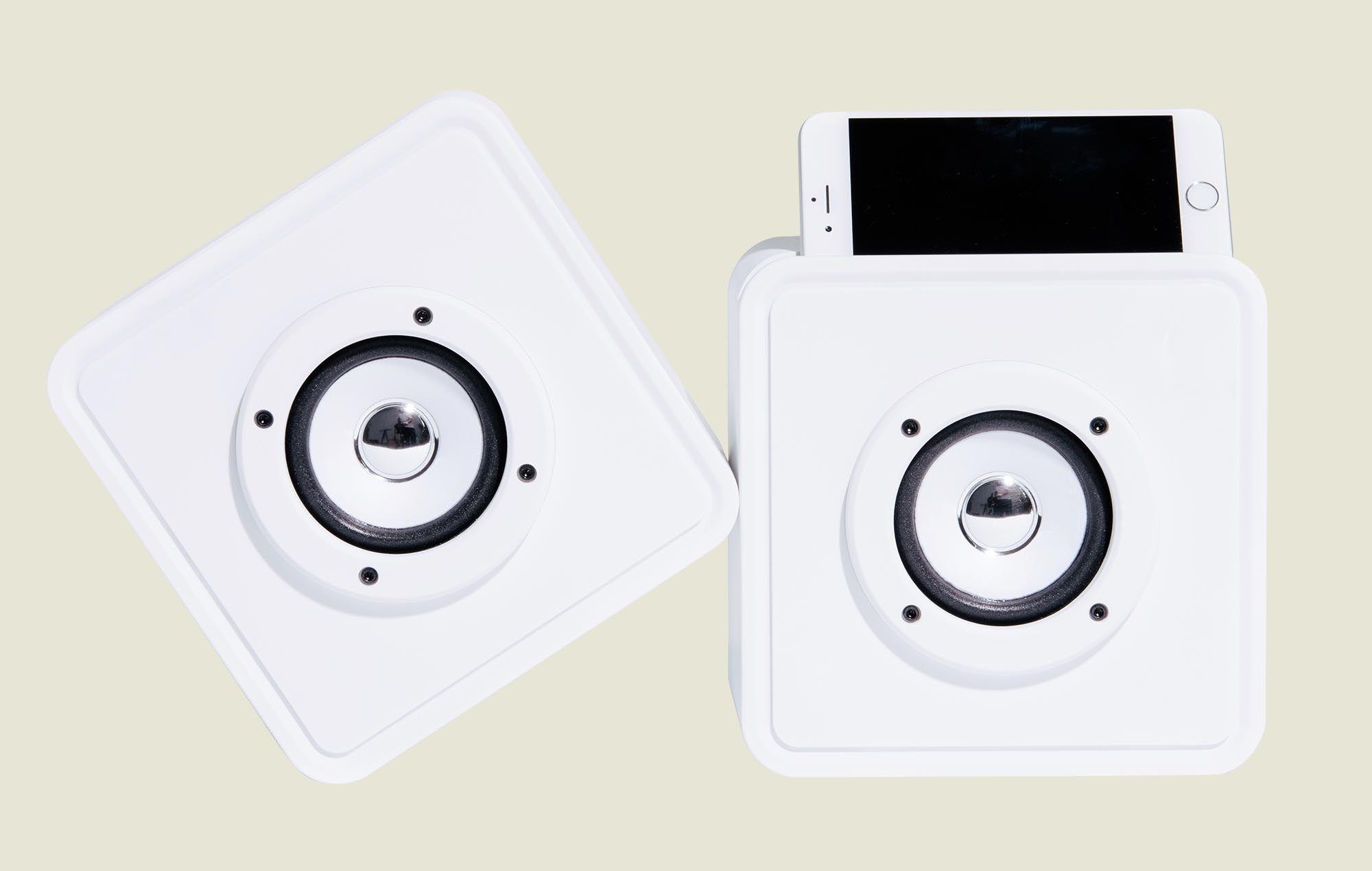 Portable phone speakers