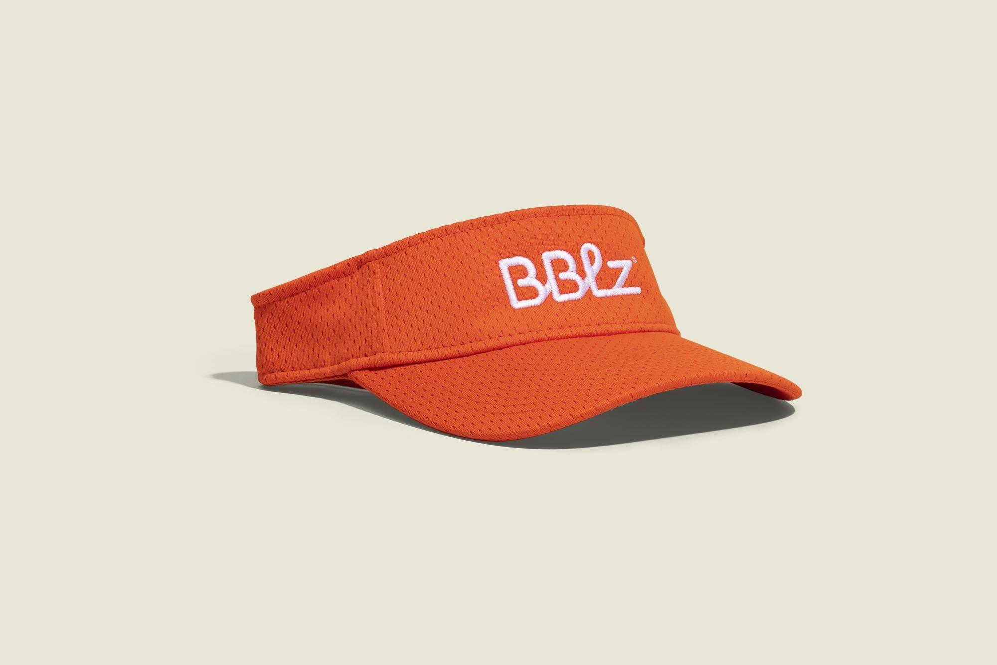 Orange Visor hat