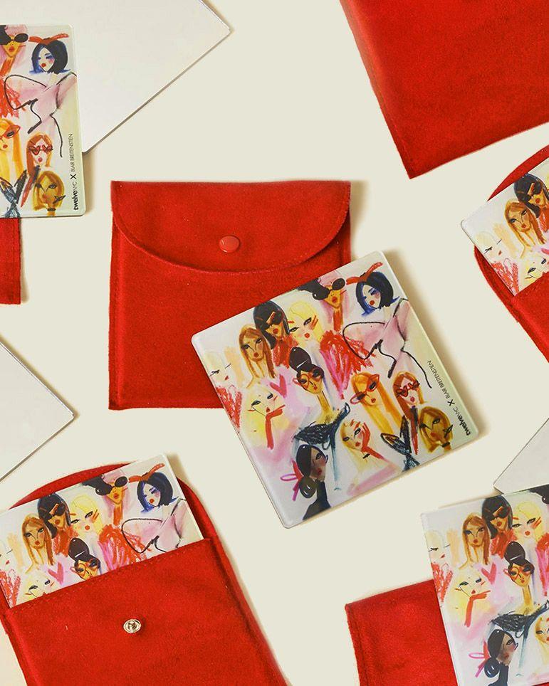 Set of flat pouches