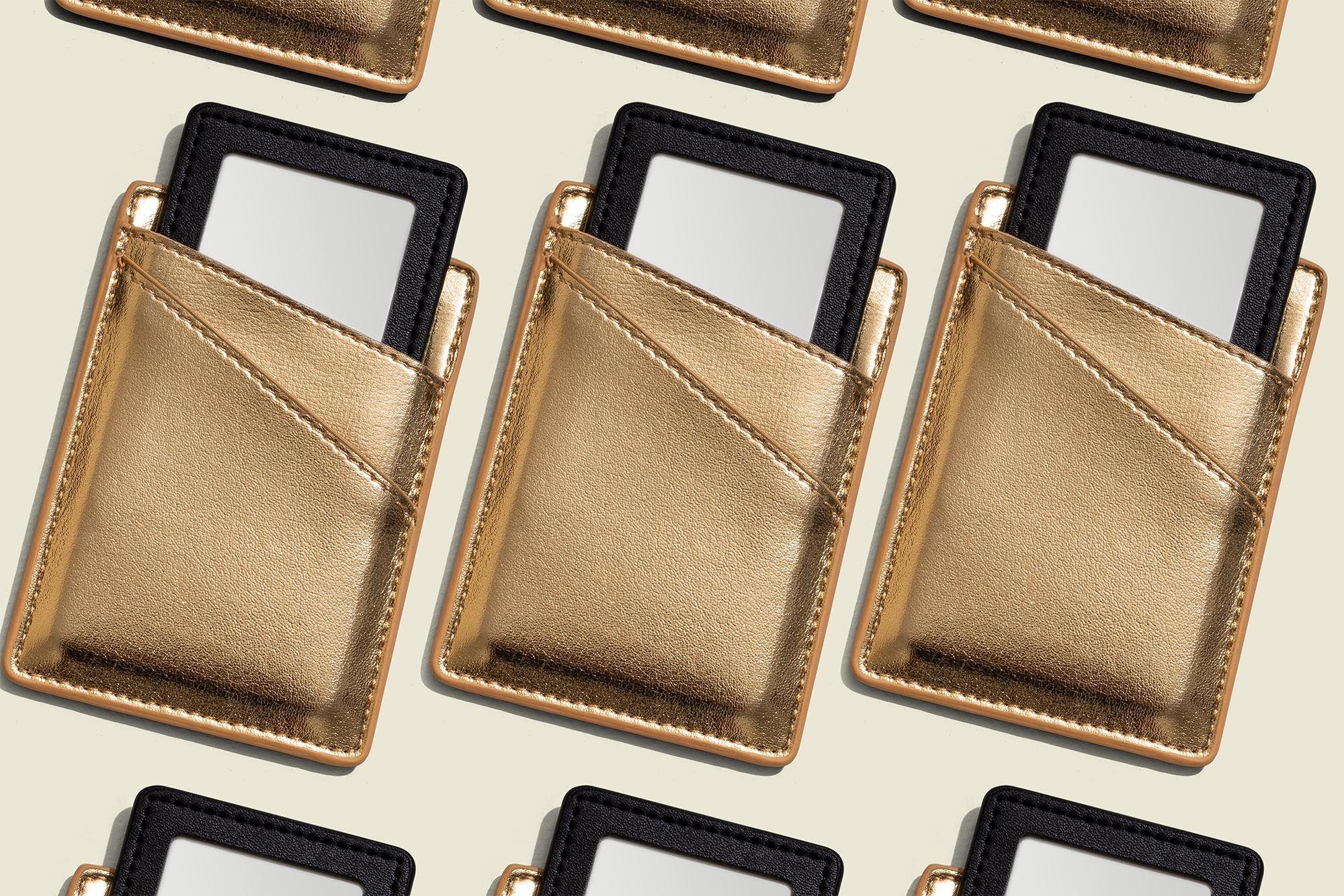 Custom packaged pocket mirror