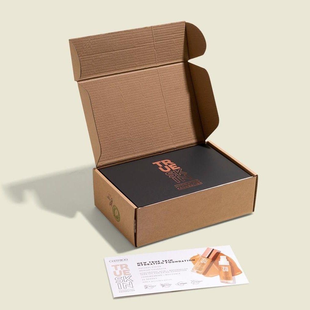 Custom packaging with brochure