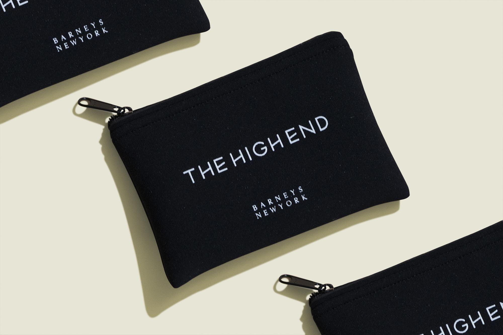 Flat zip pouch
