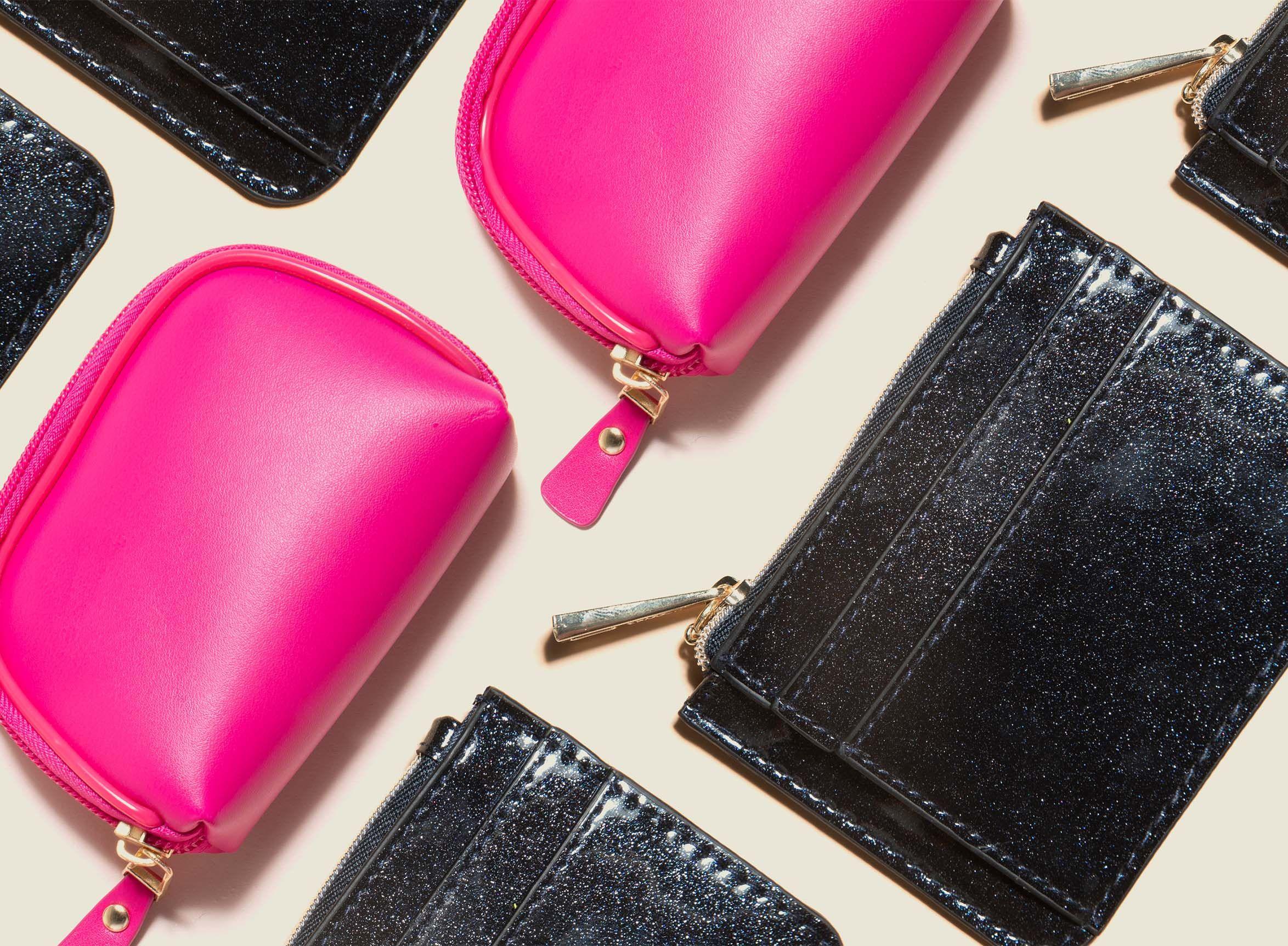 Set of zip pouches