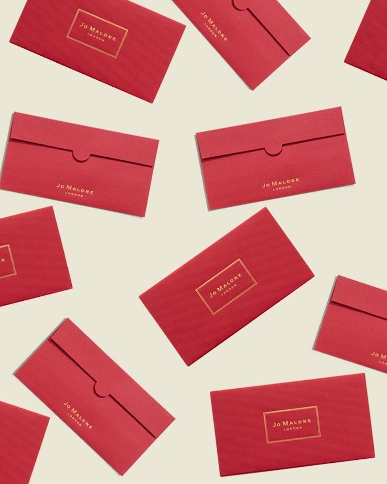 Custom red envelop