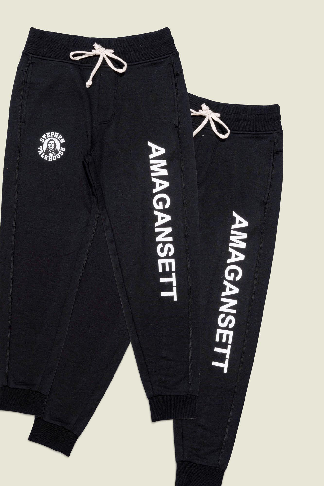 Set of black sweatpants