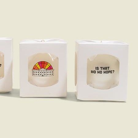 Custom packaging with ornaments