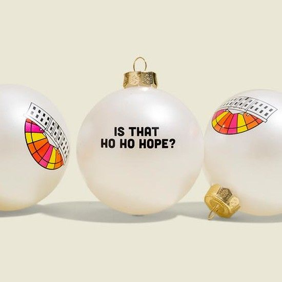 Set of Christmas tree ornament