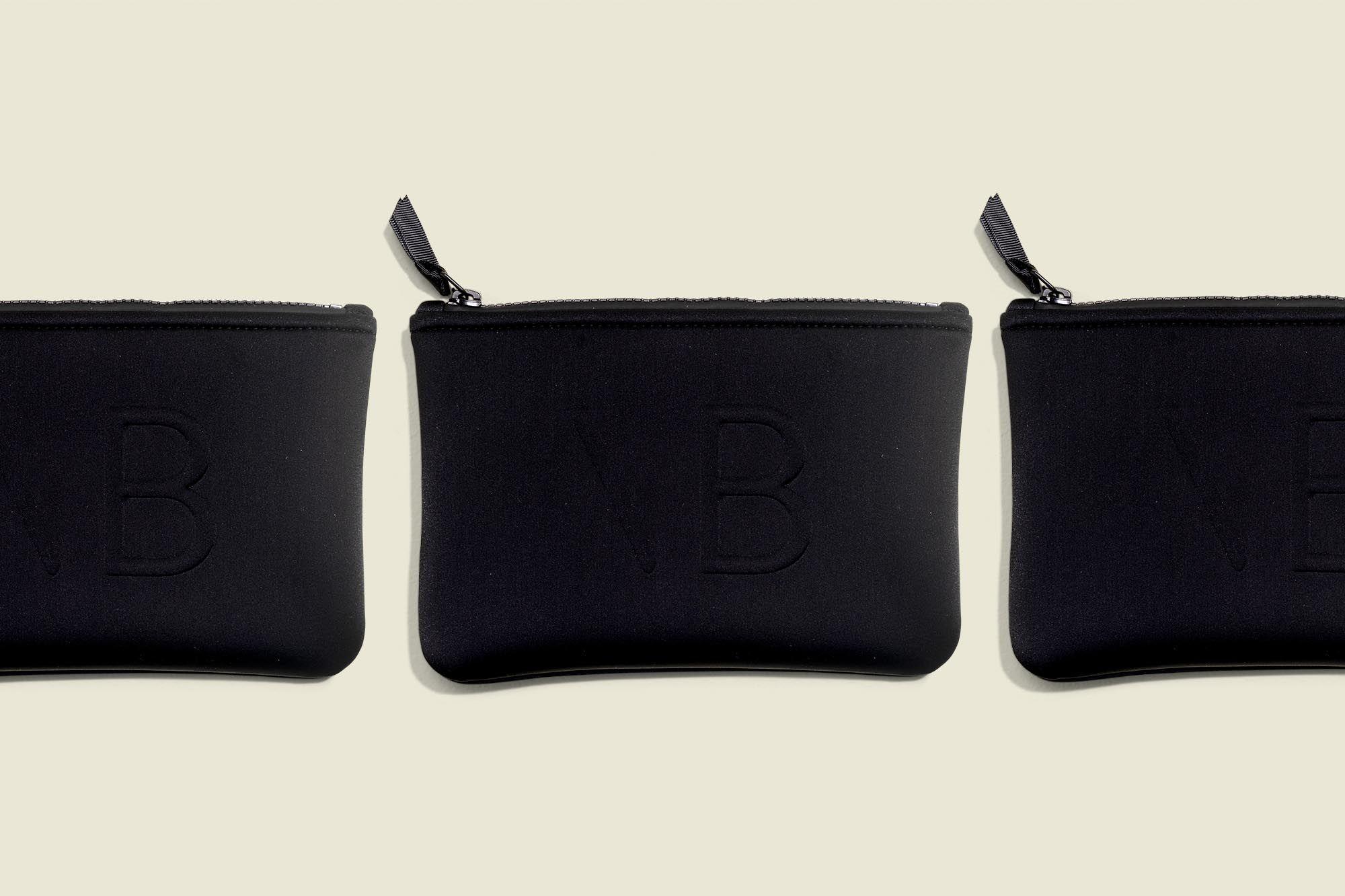 Flat zip pouches