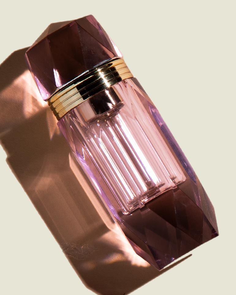 Glass perfume atomizer