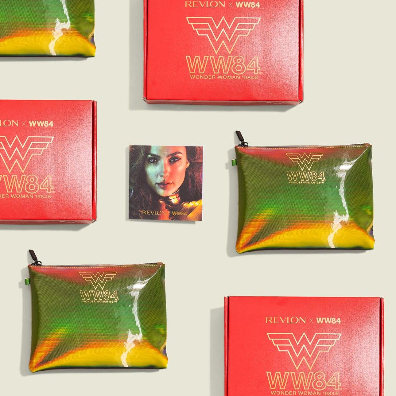 Custom print packaging with flat zip pouches
