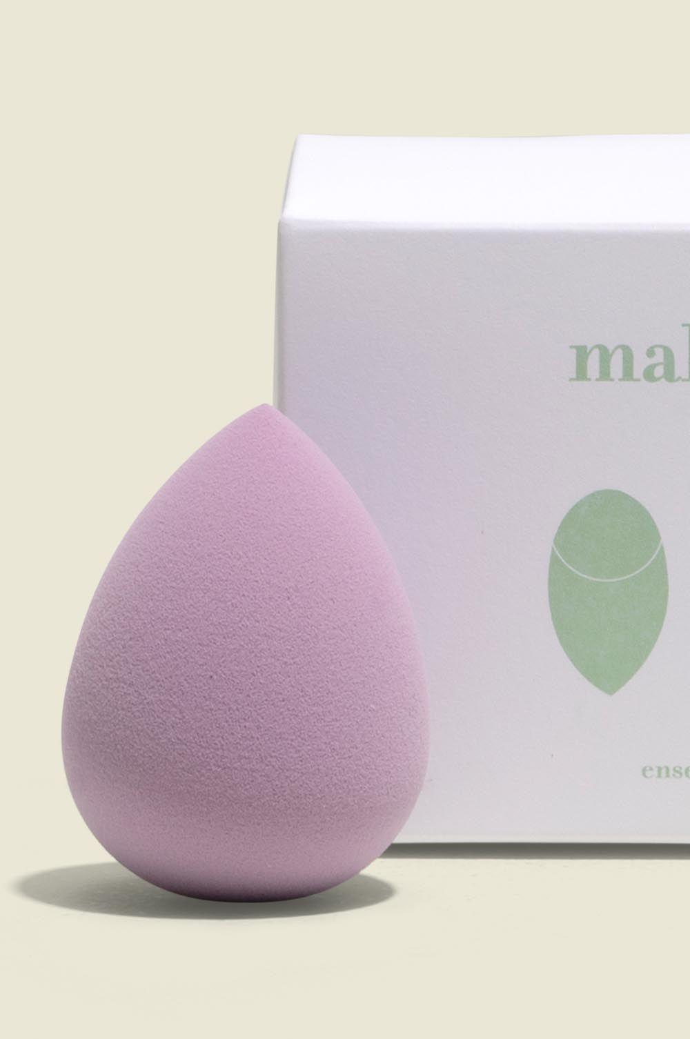 Custom packaging with makeup blender