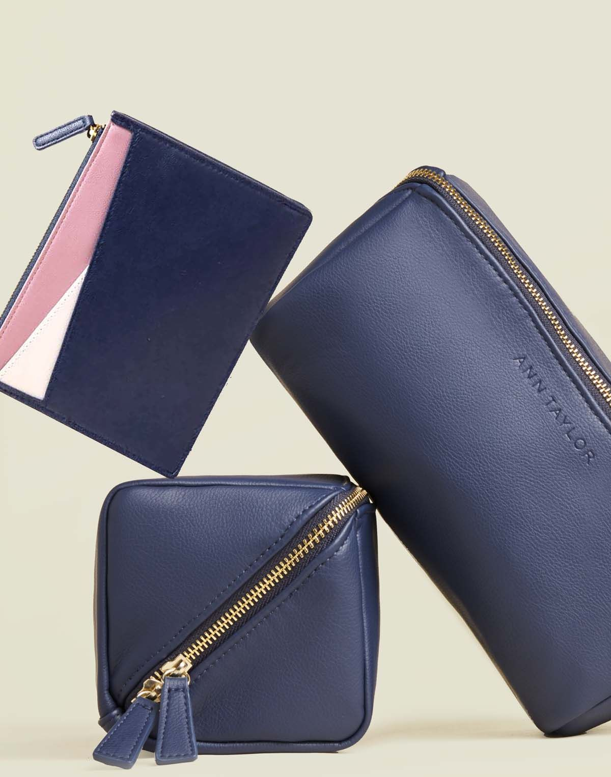 Collection of zip pouches