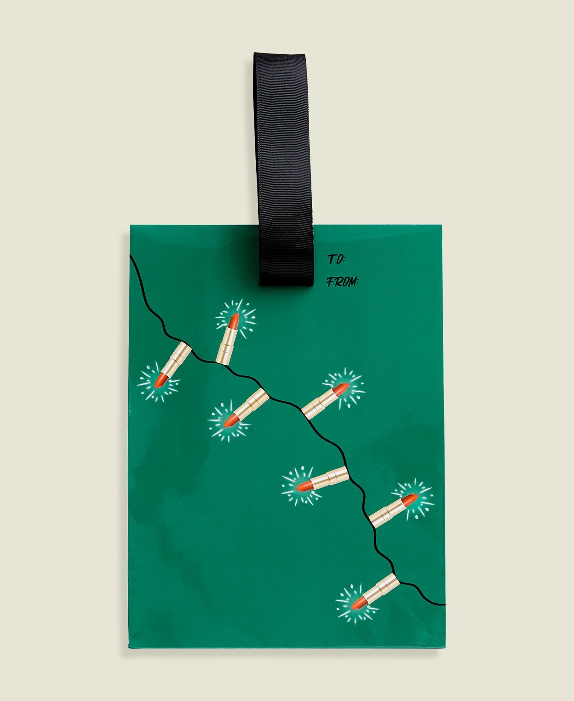 Custom paper bag packaging