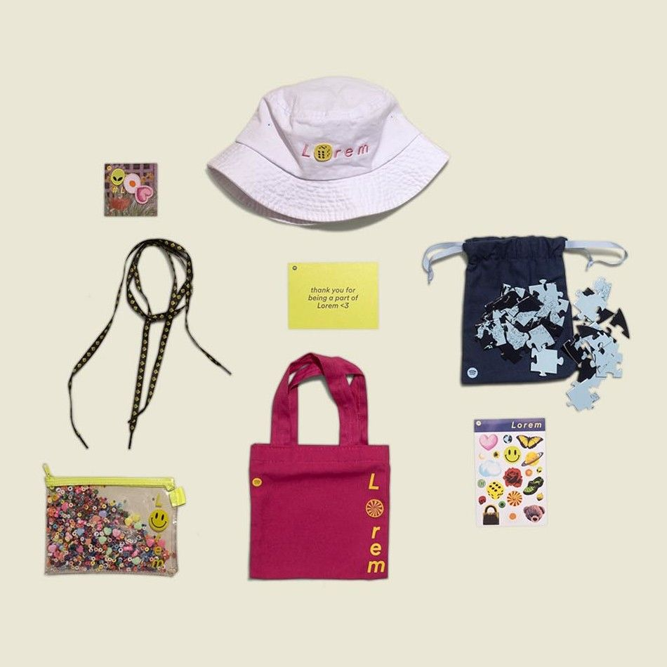Collection of bags, pouches and accessories