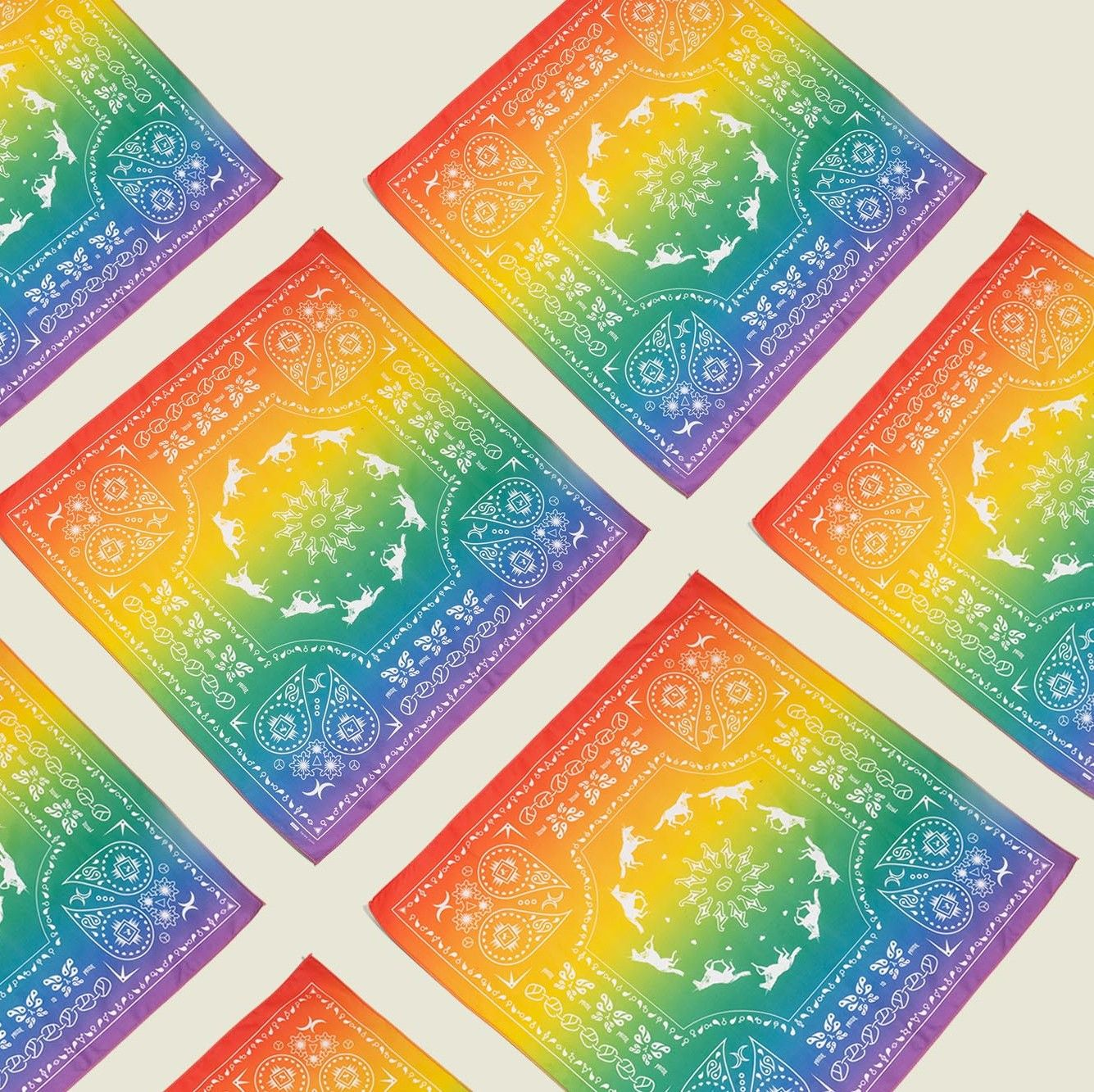 Colorful handkerchiefs
