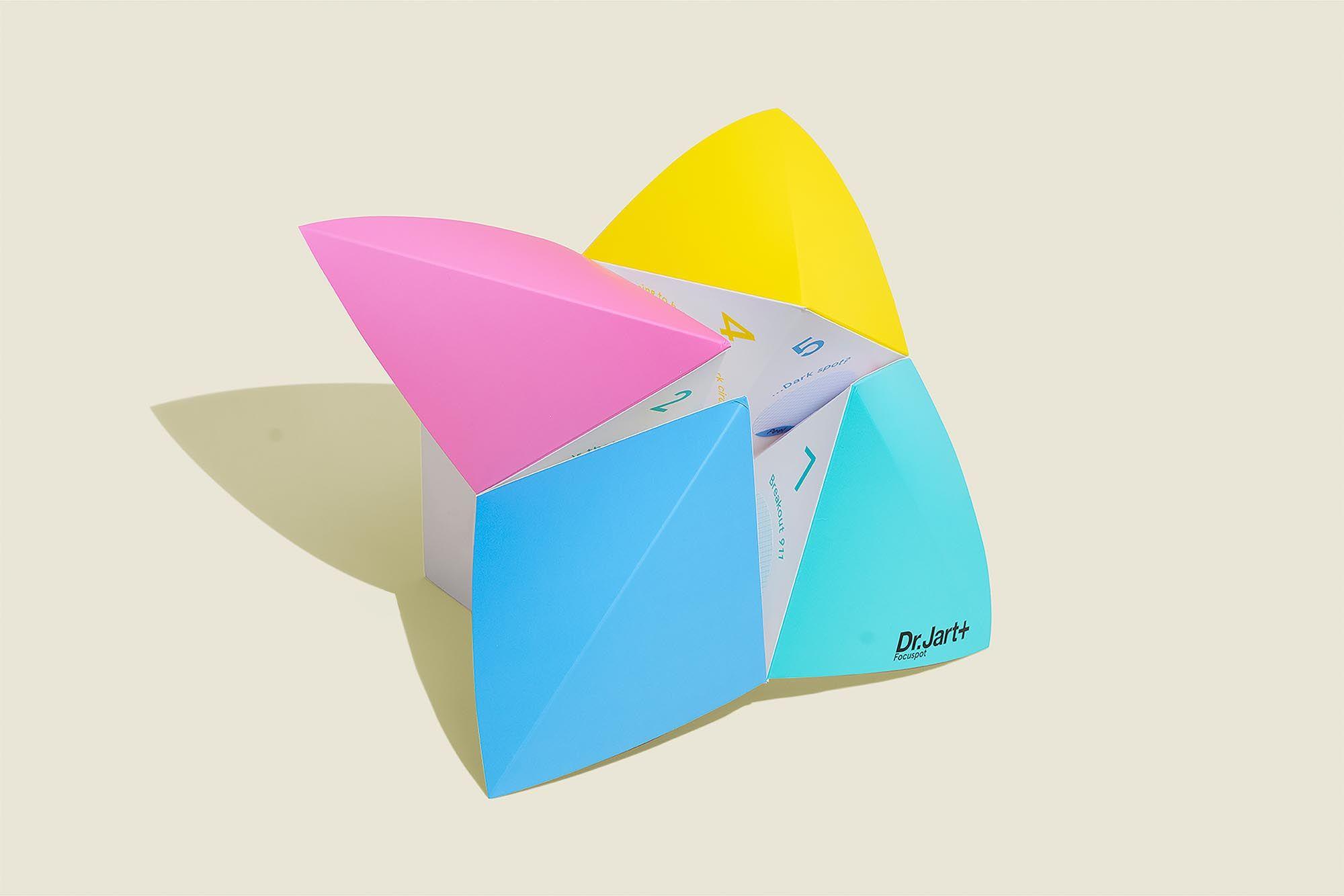 Origami paper game