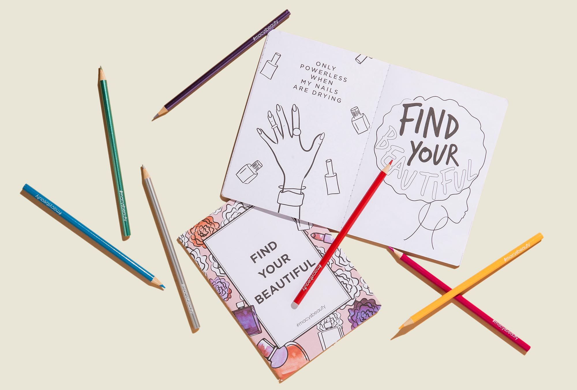 Coloring books with crayons