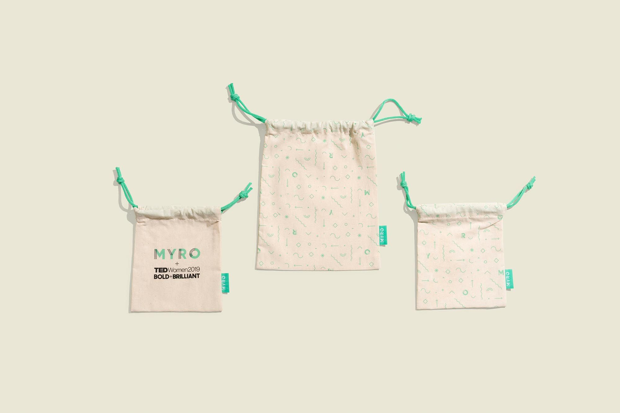 Drawstring pouches