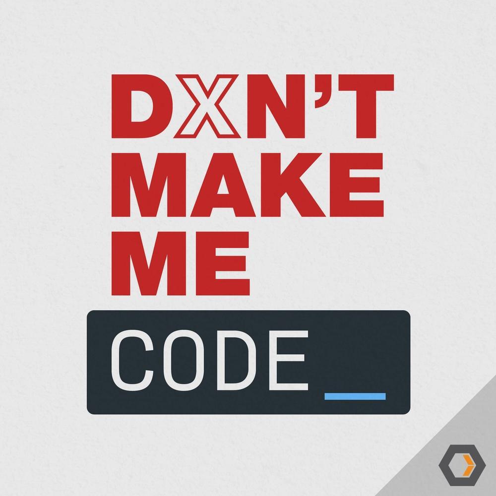 Don't Make Me Code logo