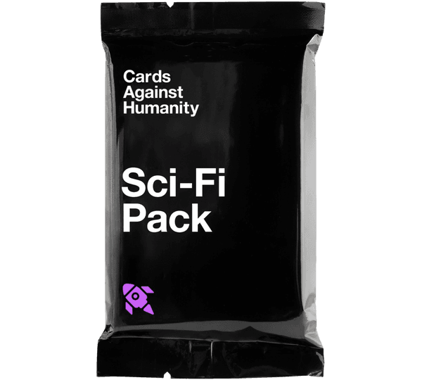 Sci-Fi Pack (Front of Wrapper)