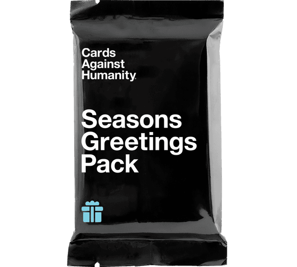 Season's Greetings Pack (Front of Wrapper)