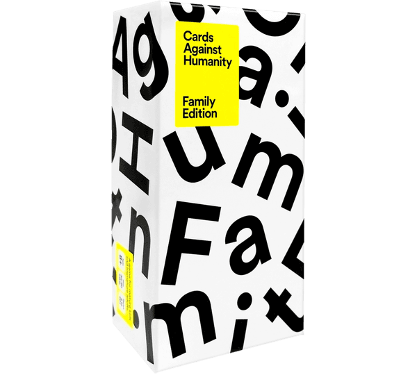 Cards Against Humanity: Family Edition (Three-Quarter View)