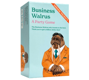 Business Walrus (Three-Quarter View)